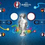 Con los 1/4 de final definidos, así queda el cuadro de la #EURO2016 ya sin #ESP ???????????????? https://t.co/KMhjpABpqU