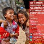 Ayuda a ayudar 675 niños en situacion de extrema pobreza,están dependiendo de la generosidad de las personas https://t.co/iHpHpdHcGp