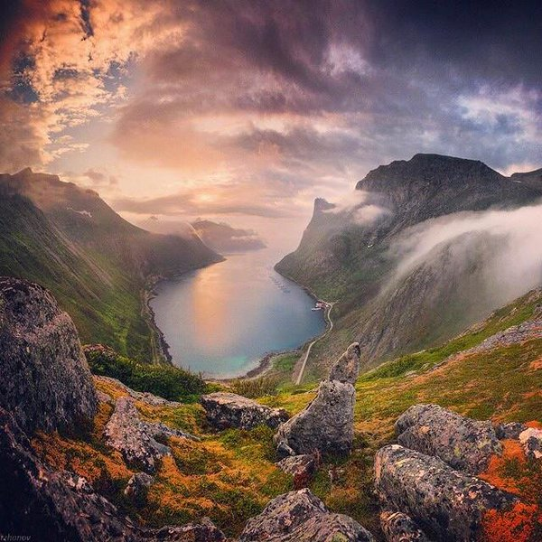 The amazing view in Senja, Norway | Photography by ©Daniel Kordan https://t.co/pQf8OUQ1On