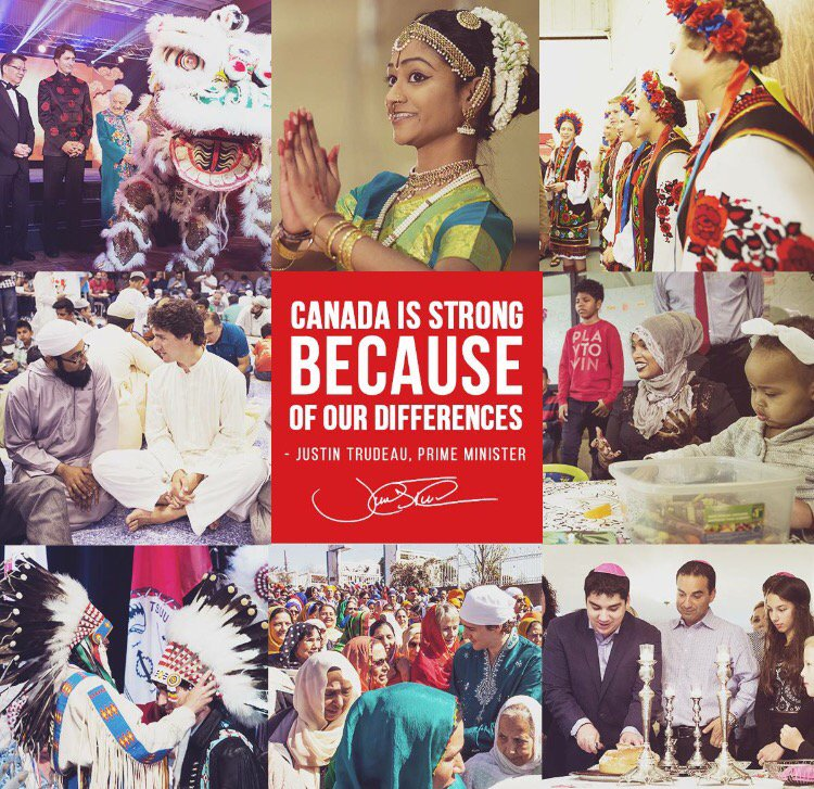 Look what the Canadian Prime Minister did today on Multiculturalism Day. Thanks for sharing @MarillaWex https://t.co/PmDCp7sm8R