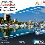 Disfruta de El Malecón del puerto o El Club de Yates y navega mar adentro. #Aeromar #Acapulco @FideturAcapulco https://t.co/4KSUI871zh