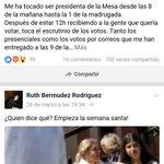 """Ruth Bermudez Rodríguez. Facebook. Carta de una :presidenta de mesa"""" habla de fraude. https://t.co/fBj7el6BdR https://t.co/HKPF2qg0N4"""