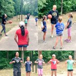 Our players had a great time teaching basketball skills & playing games with the Girl Scouts today! #TheWoffordWay https://t.co/ENAhMLHWAk