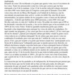 España. Elecciones. Fraude Electoral. Ruth Bermudez Rodríguez presidenta de mesa habla de fraude. https://t.co/VuGon1ZRmJ