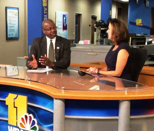 "BWI CEO spoke with @wbaltv11 about ""My BWI"" & what travelers can expect in summer season--"