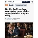 RT @JimGaffigan: Thx AVClub.  https://t.co/VssdlkO1CW https://t.co/x0PaCzVzc0