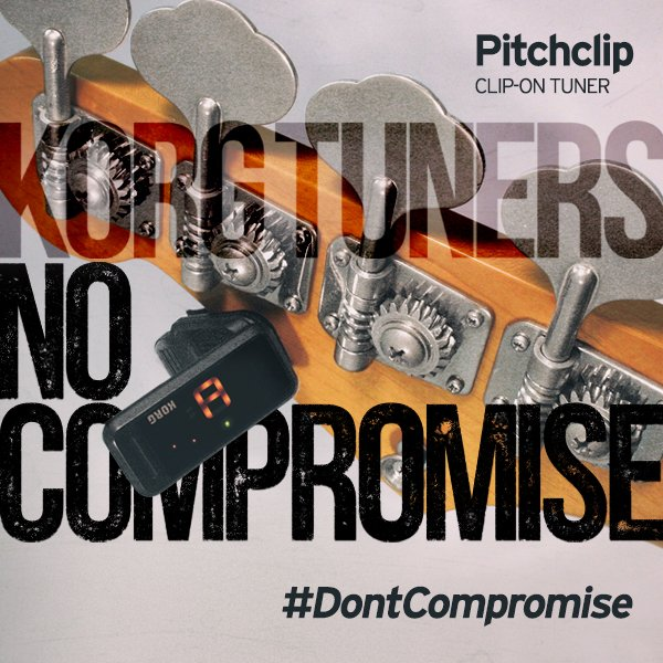Another #Tuesday, another #tuner giveaway! Follow us and #retweet to win a #Pitchclip! #dontcompromise #demandkorg https://t.co/ndNcMyTYbW
