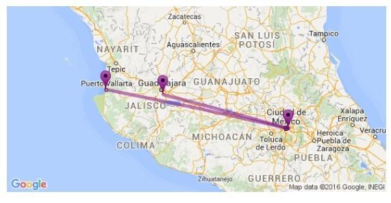 Revisé si @ViajaVolaris tenía vuelos de GDL a Pto. Vallarta y sí. Tiene dos rutas, una más absurda que la otra:  . https://t.co/ufOZ0Rol8Y
