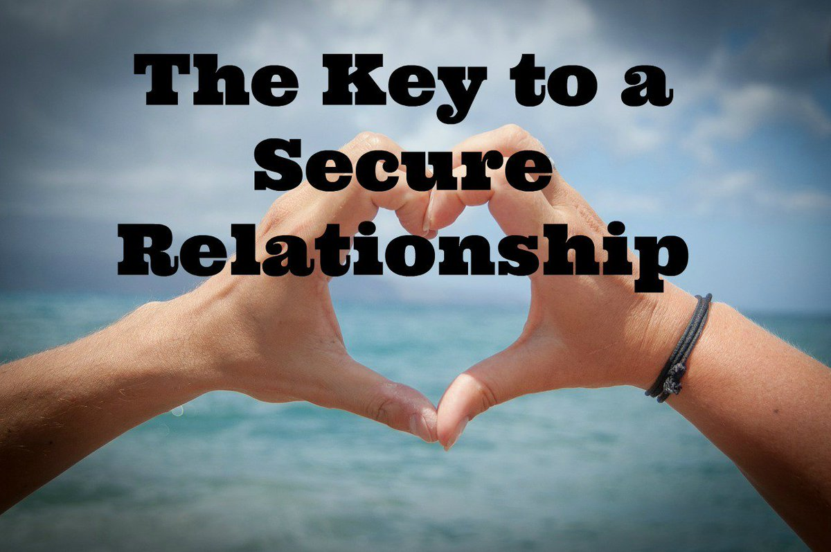 The Key to a Secure Relationship https://t.co/6hEwg6511m #happilyblended #blogger https://t.co/r3P4YAFaVH