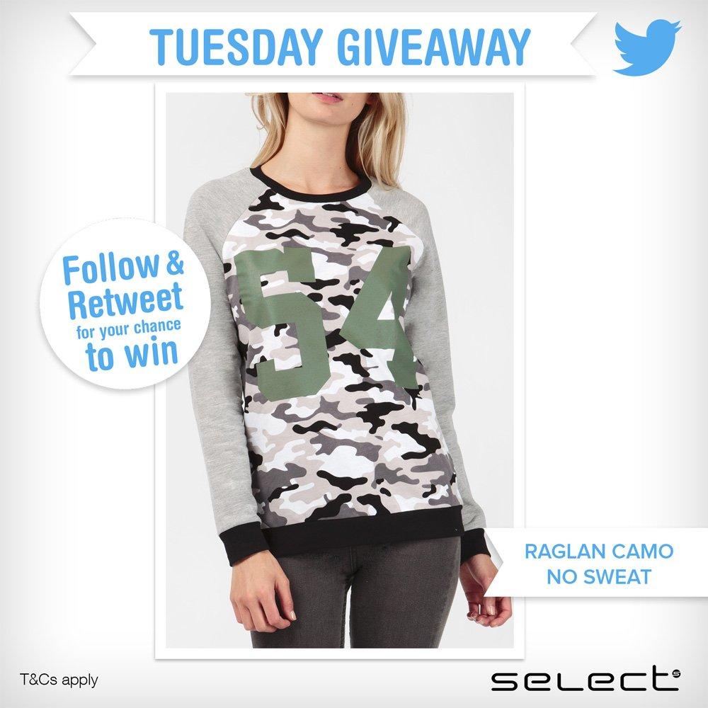 @SelectFashion Follow & Retweet for a chance to win! https://t.co/KB8W8aGPNY  #competition #win #freebie https://t.co/hrfdX5uzA2