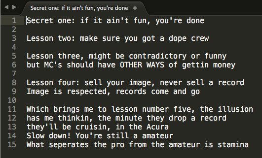Today's indie dev business lessons brought to you by KRS-One: https://t.co/hx6BBh9frS https://t.co/5x8aCE9C2m