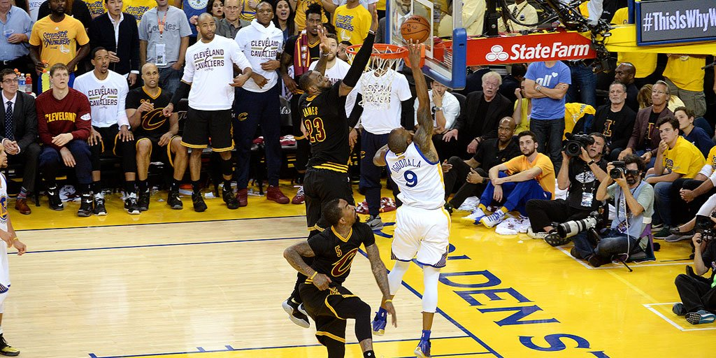 The block: a frame-by-frame look at lebron james\'s finals-altering ...