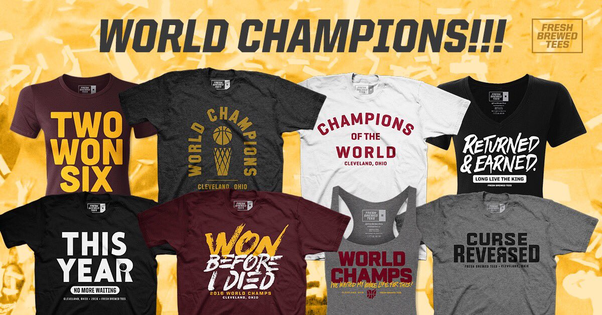 RETWEET, champs, for the chance to win a FREE tee of choice! #WorldChampions #TwoWonSix https://t.co/9HifgnANla https://t.co/vpj2xcmd8n