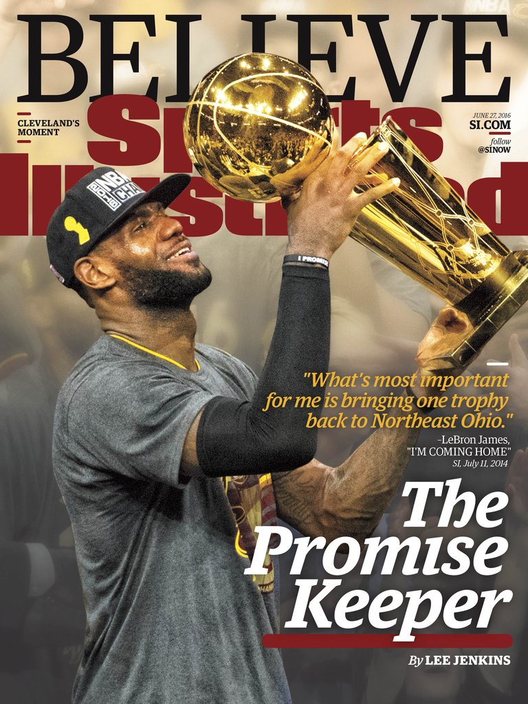 THIS WEEK'S COVER: LeBron James kept his promise to Cleveland (story by @SI_LeeJenkins) https://t.co/pWDXNhk5Nw https://t.co/3bHwfKgFfV