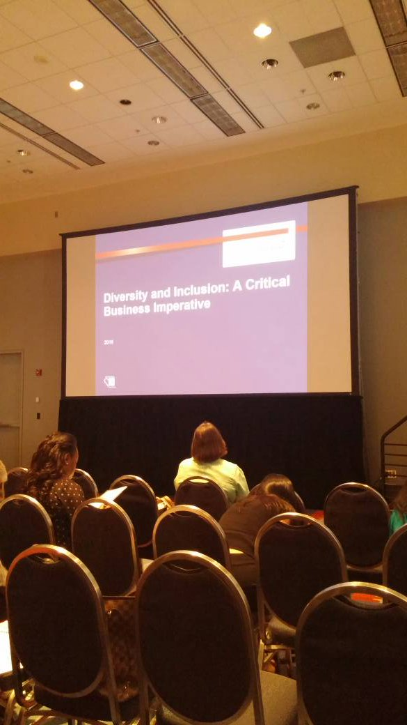 Dr. Rohini Anand from @SodexoDiversity discussing Diversity and Inclusion: A Business Imperative. #shrm16 https://t.co/8h1D8D1zPg