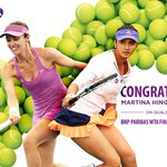 RT @WTA: Defending champs @MHingis & @MirzaSania are the 1st doubles team to qualify for #WTAFinals-> https://t.co/TjTXXL88G7 https://t.co/…