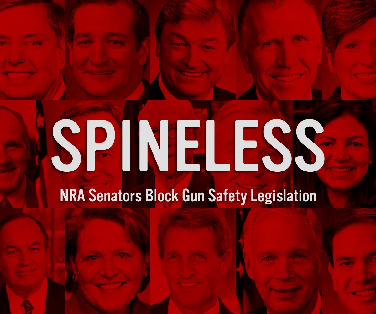 56 senators just voted against closing critical gaps in our background check system. #DisarmHate https://t.co/VfNSl2UqOq