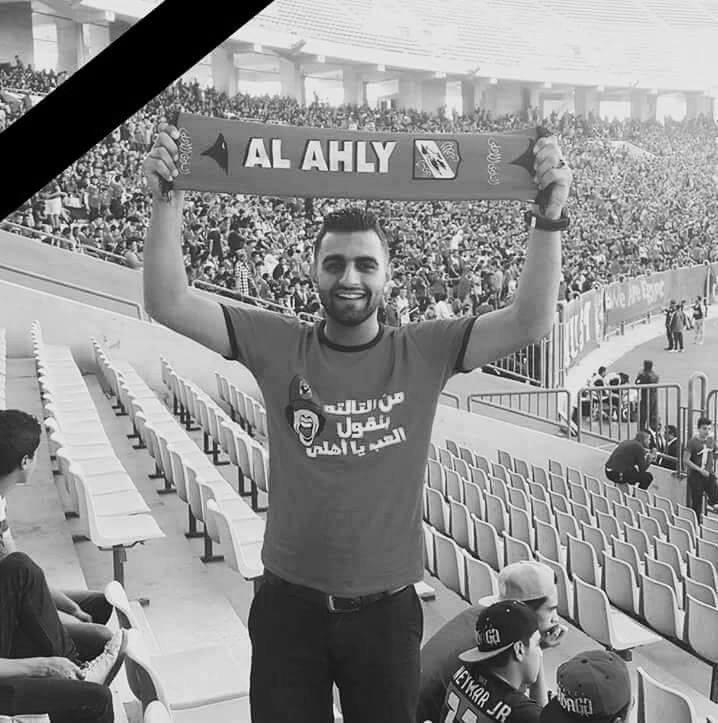 """""""إِنَّا لِلّهِ وَإِنَّـا إِلَيْهِ رَاجِعونَ"""" توفي اليوم في حادث أليم 'محمد ياسر' اثناء عودته من تمرين الاهلي بالتتش. https://t.co/bU9eOuHZpf"""