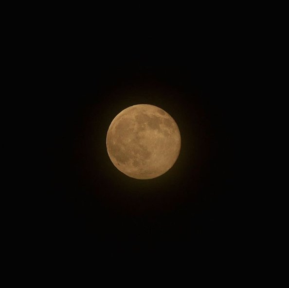 Tonight's #StrawberryMoon was MAGNIFICENT! ❤️