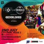 S/O @PromptNewso U R invited to #TRENDELO 2nd July. For info BBM:TRENDELO.  https://t.co/e2hB5sJqwT pls RT
