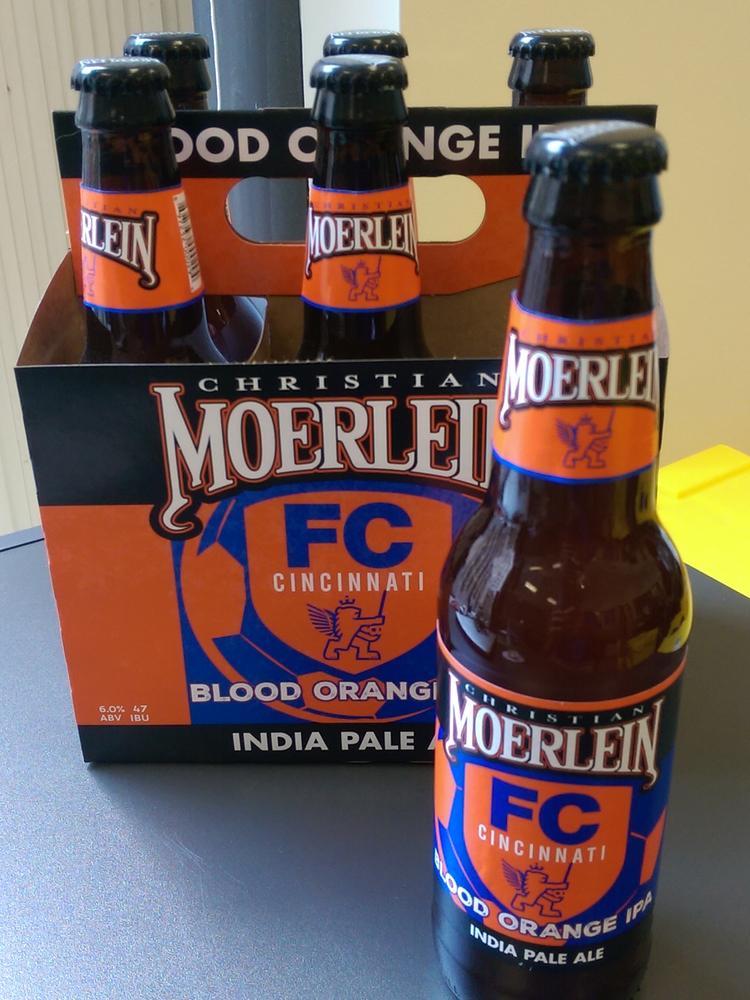 FC Cincinnati teams with Moerlein to offer new beer https://t.co/y1OuLUZxyf https://t.co/oNbK6suFyz