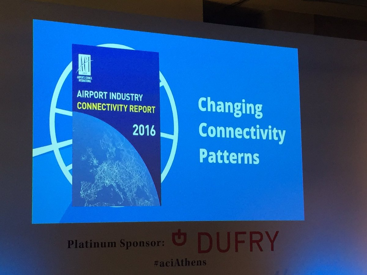 We release our brand new 2016 Airport Connectivity Report this morning: