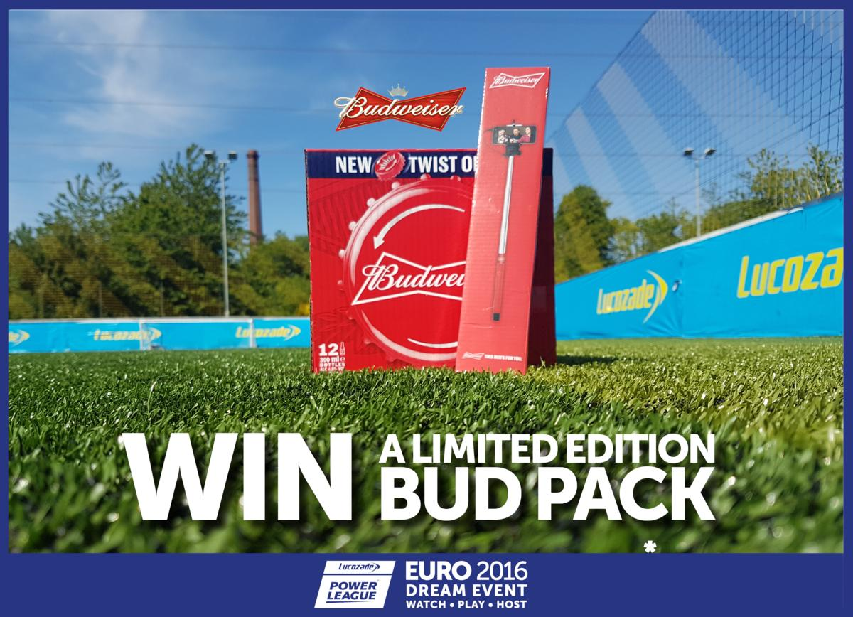 @powerleagueUK #Euro2016 week 3 and we're giving away a special @BudweiserUK pack.Follow and RT for a chance to #WIN https://t.co/yr6LnvK5bx
