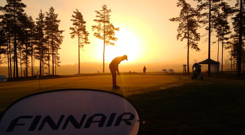 We have light 24/7 during summer. How about golf at midnight sun?