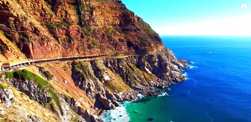 RT @SAA_UK: See Chapman's Peak from a drone! Have you done the drive?
