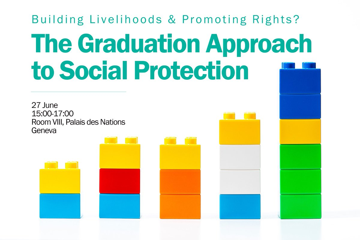"What is ""#graduation"" in the context of #SustainableDevelopment? Join a new #UNRISDSeminar: https://t.co/nYWEW2CNw4 https://t.co/kHN9e25pmk"