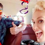 Glitter? Dancing? A bloody nose? How @gwenstefani helped @blakeshelton celebrate his 40th: https://t.co/zCOyan870E https://t.co/plQ3qmvhs1