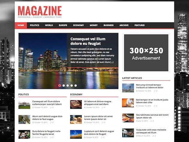 MH Magazine Lite – Popular Free WordPress Theme for EditorialWebsites https://t.co/HNJo8MVi2n https://t.co/D2H78OR1wV