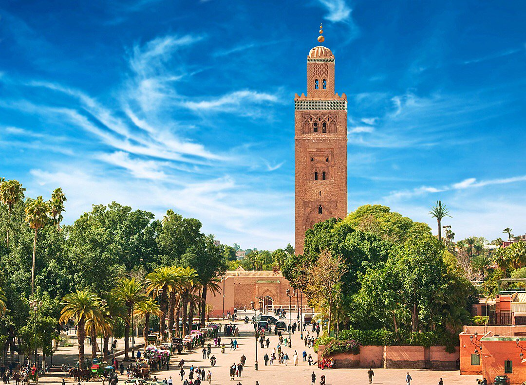 Explore Marrakech's famous markets, with flights from July 1. Book Now: