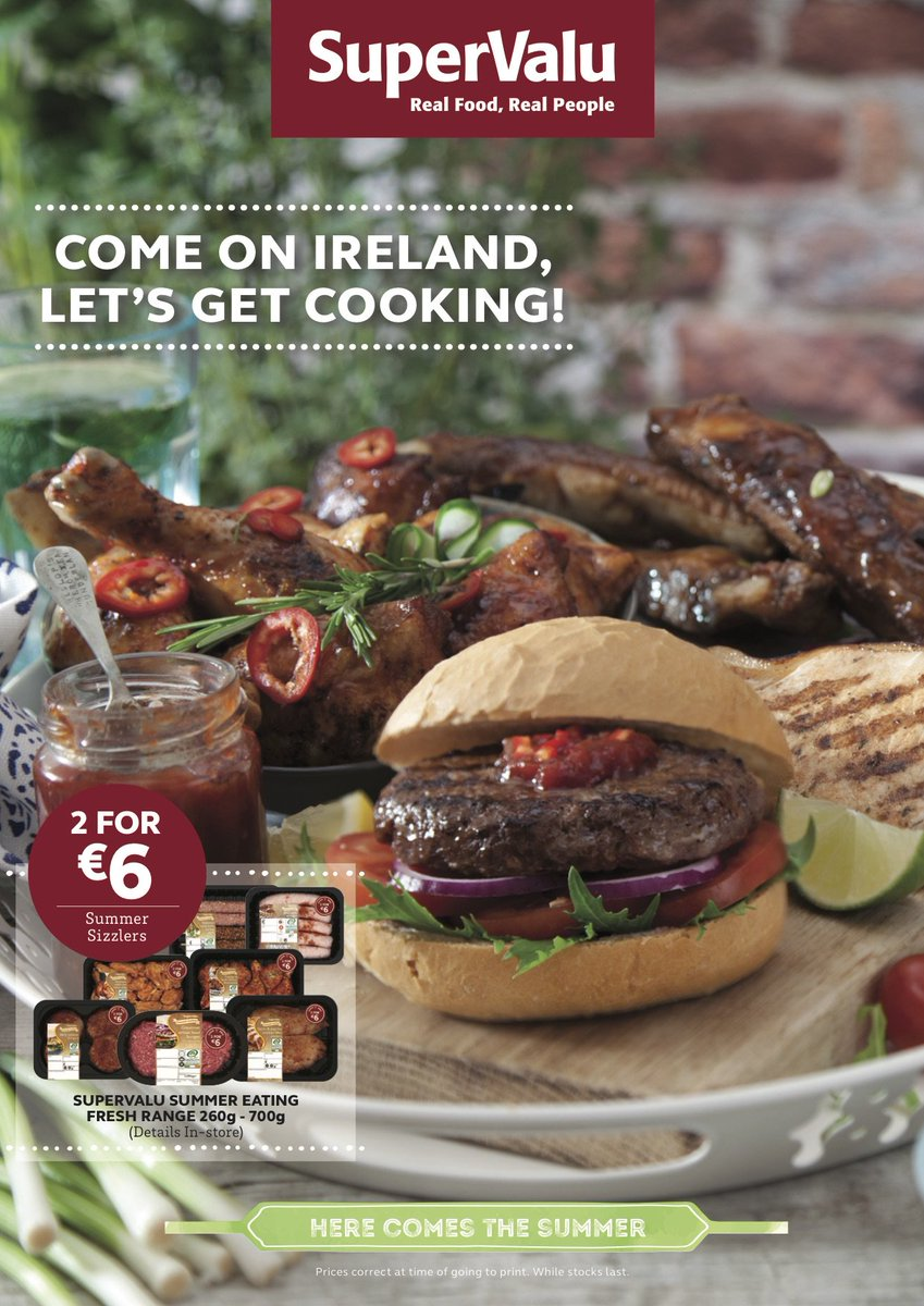 Sizzling offers in store.... 2 for €6 https://t.co/My0IrVUeh6