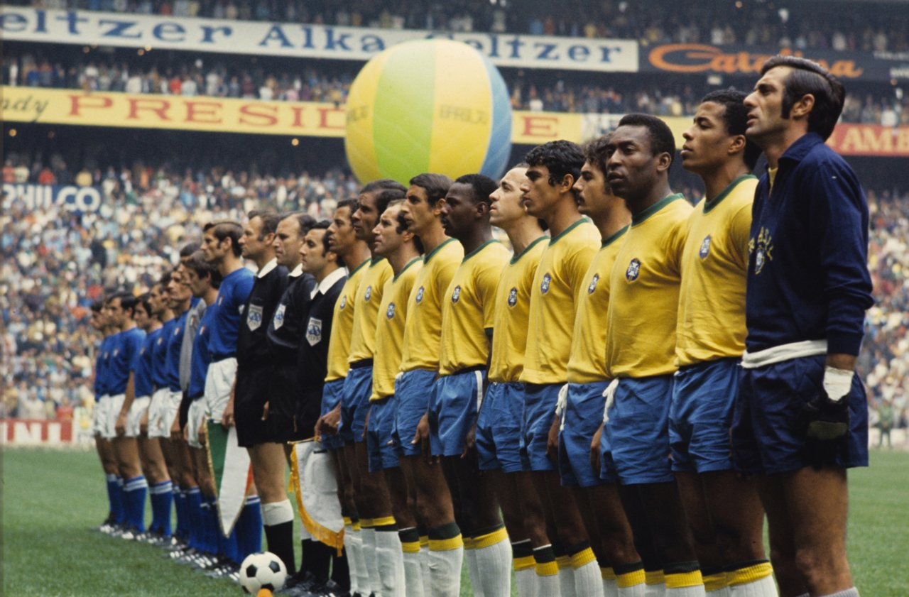 Accadde oggi... 21 giugno 1970: il #Brasile di Pelé batte 4-1 l'#Italia e vince il Mondiale per la 3^ volta🏆⚽🇧🇷 https://t.co/HwXkVeAnBe