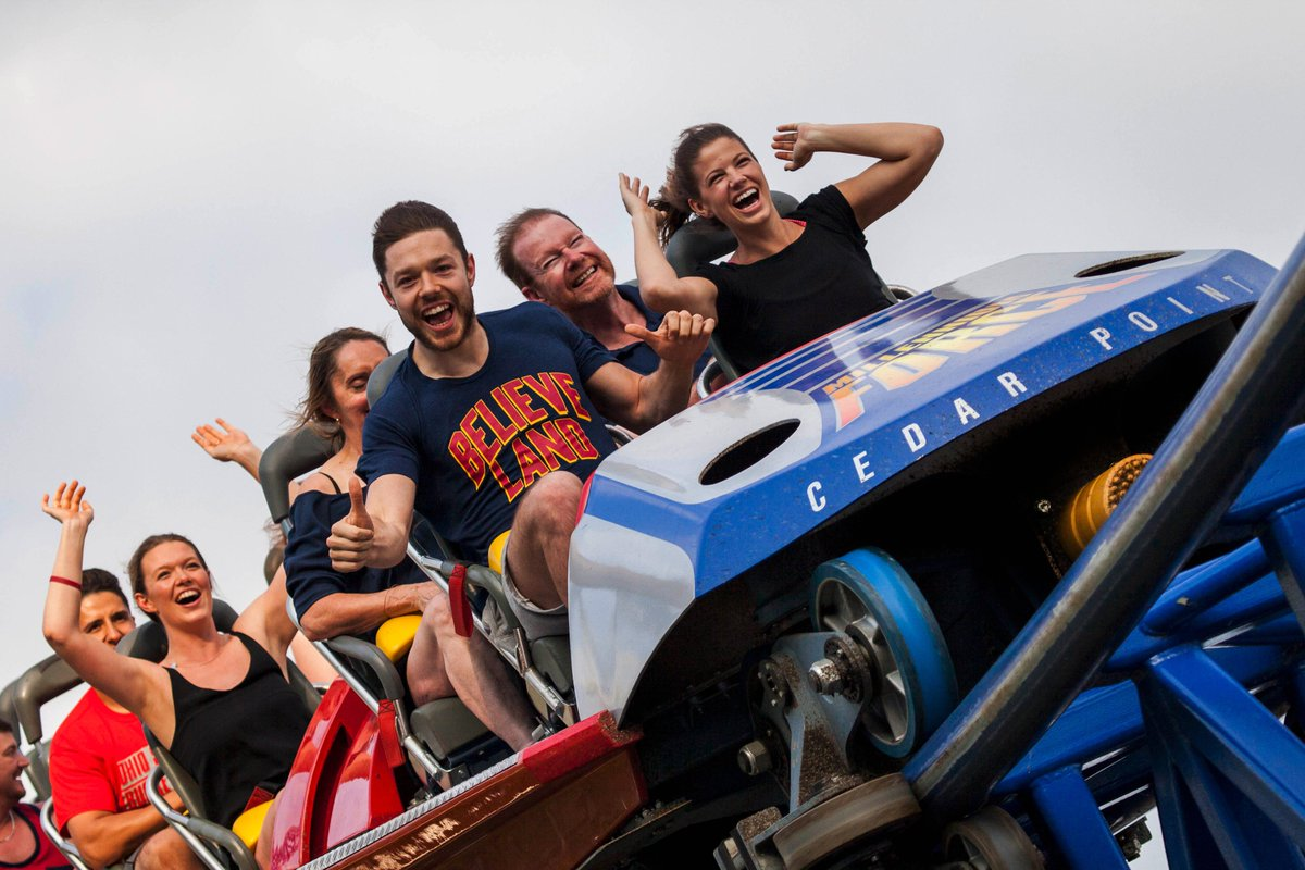 How does an NBA Champ celebrate a big win? A ride on Millennium Force, of course, of course! Congrats @matthewdelly! https://t.co/TXyXl4Myjw