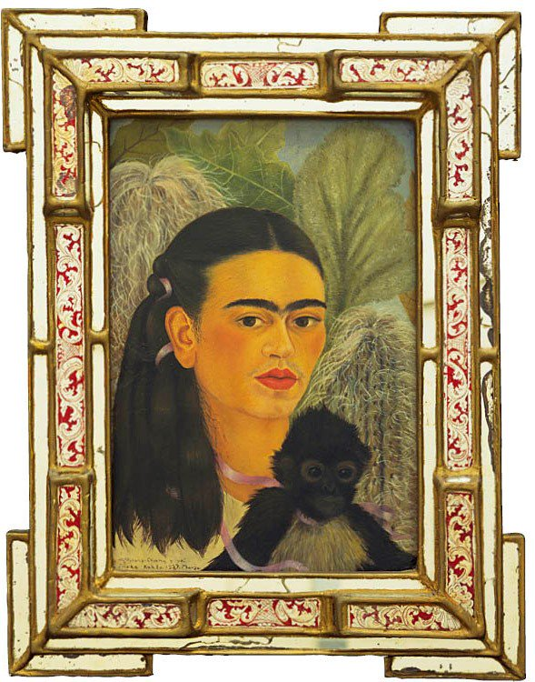 Frida Khalo is known for her self-portraits. Come see her masterpiece, Fulang-Chang and I, on display now! https://t.co/AxmCt2ZFby