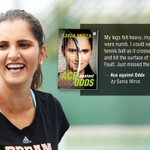 RT @HarperCollinsIN: Excited for the launch of tennis sensation @MirzaSania's autobiography #AceAgainstOdds? https://t.co/0pHycGY3ju https:…
