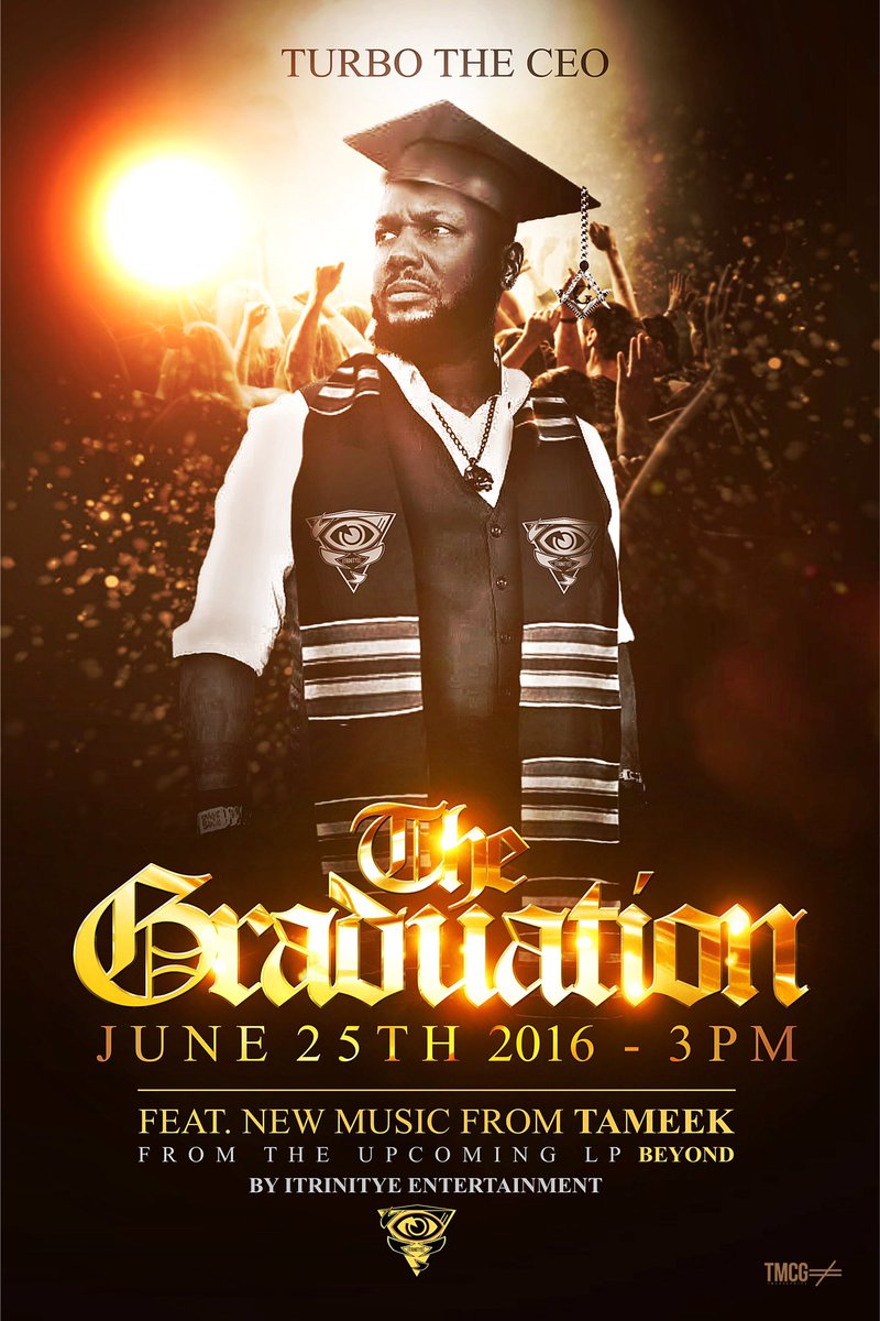 Make sure you follow @TurbotheCEO as he celebrates The Graduation , great things on the horizon.