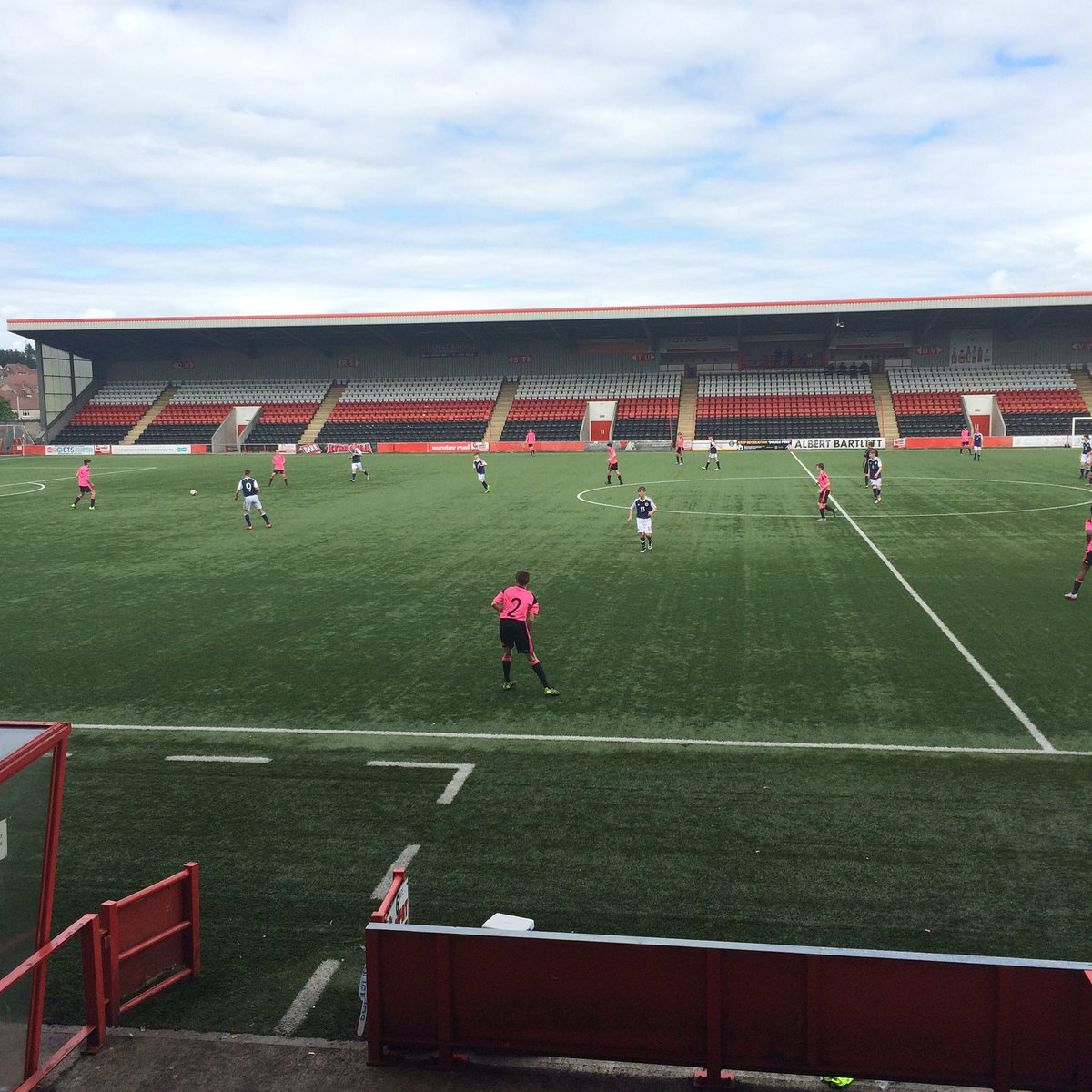 Great day watching the @ScottishFA stars of tomorrow #U15 #ViolaFC https://t.co/3cLKOk30CP
