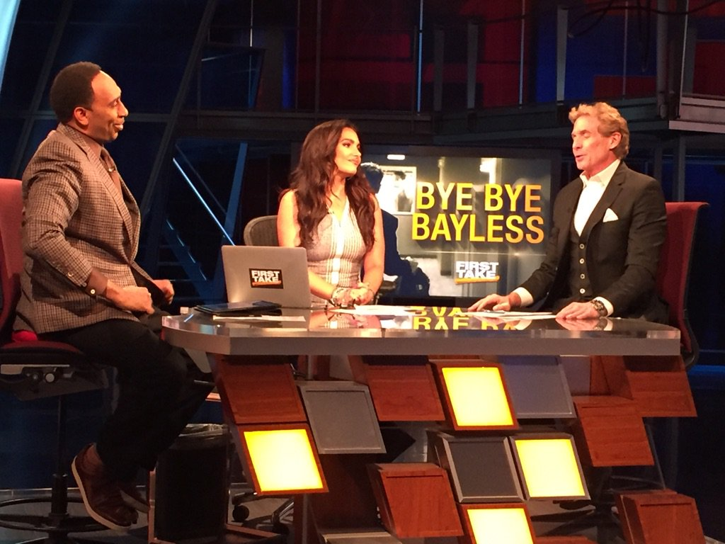 Hope this is your best chapter yet. I'll miss sitting next to you everyday. Thx for all the laughs @RealSkipBayless https://t.co/vcefe21bcz