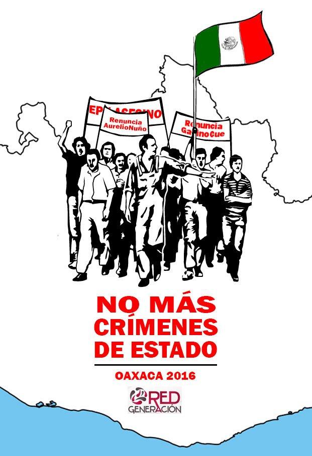 Deseamos, Queremos, Pedimos, Exigimos #NoMásCrímenesDeEstado #OaxacaLucha https://t.co/fUHmXndfpY