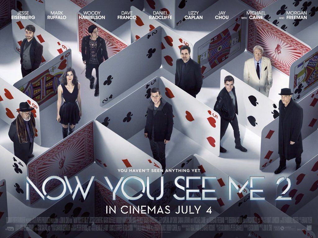 Wanna hangout with me see live magic plus win VIP tickets to see @NowYouSeeMe2UK ? Then RT for a chance to win ! https://t.co/fXsLM32zf1