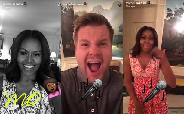 Michelle Obama is the next to ride @JKCorden's CarpoolKaraoke: 😱💯🙌