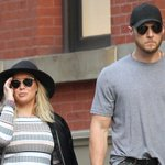 Hilary Duff was seen stepping out with her trainer Jason Walsh in New York: https://t.co/oWY6pFYr23 https://t.co/h8L9Lwtrgm