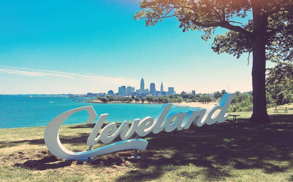 Just installed at Edgewater. #ThisisCLE #ALLin216 #ALLinCLE   Thank you @clevemetroparks @CEO_CleMetParks !! https://t.co/XBgw0PNJZI