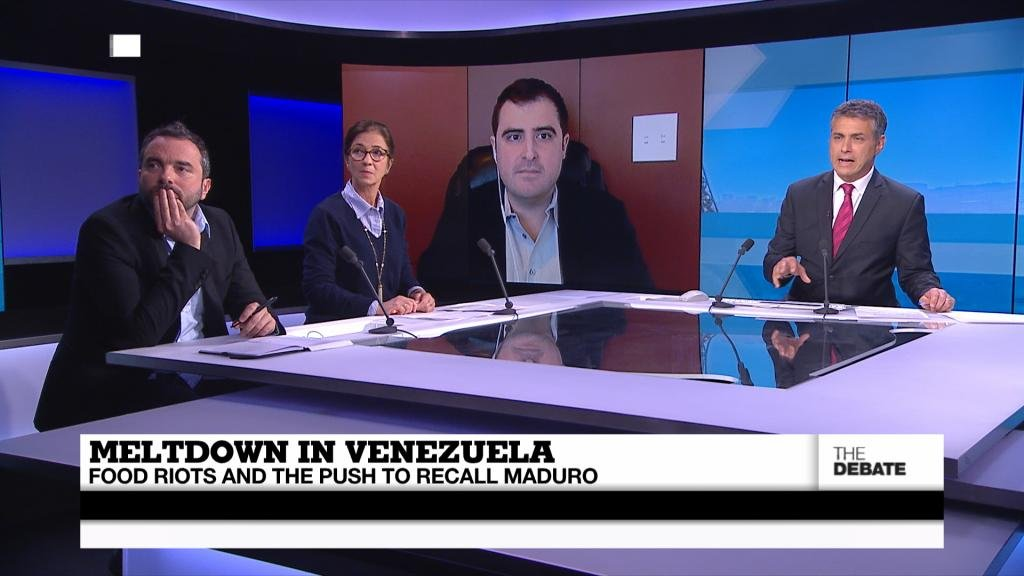 THE DEBATE - Meltdown in Venezuela: Food riots and the push to recall Maduro (part 1)