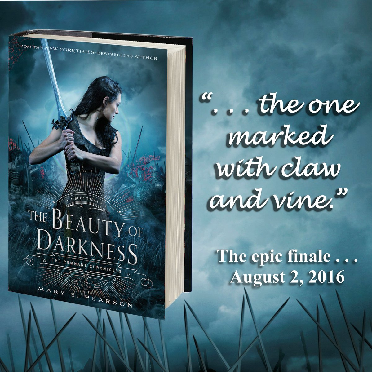 Six weeks from today #TheBeautyOfDarkness will be here! To celebrate, an artsy giveaway: https://t.co/8zwuLG91iR https://t.co/0kby5MH0QP