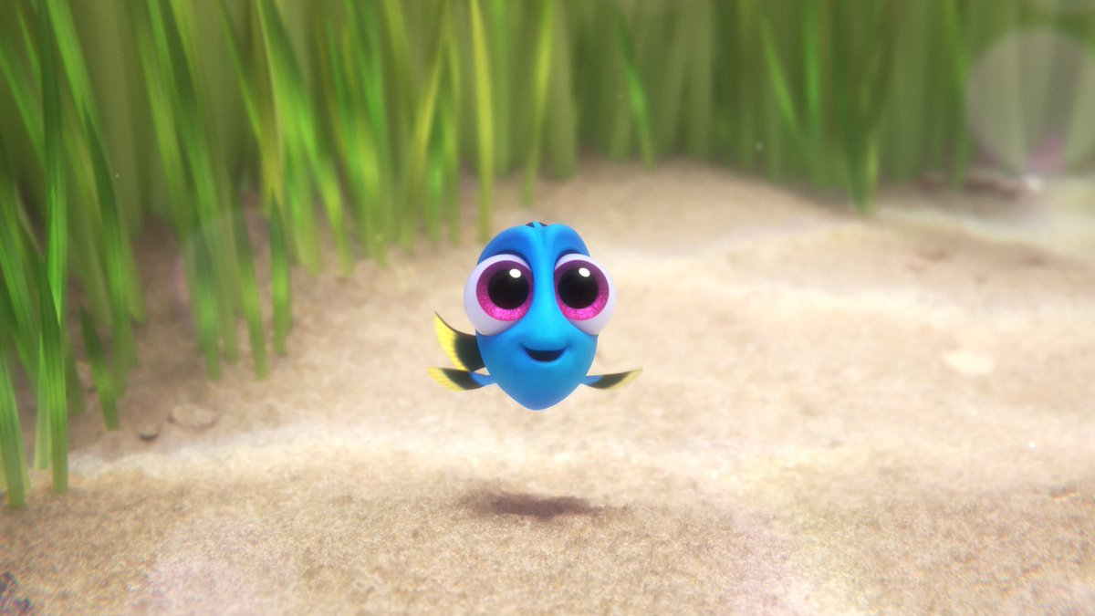 See Dory as a baby! New clip here https://t.co/1DTDeGYFwQ #FindingDory is now playing in theaters! #FindingDoryEvent https://t.co/MKQWPCMl4U