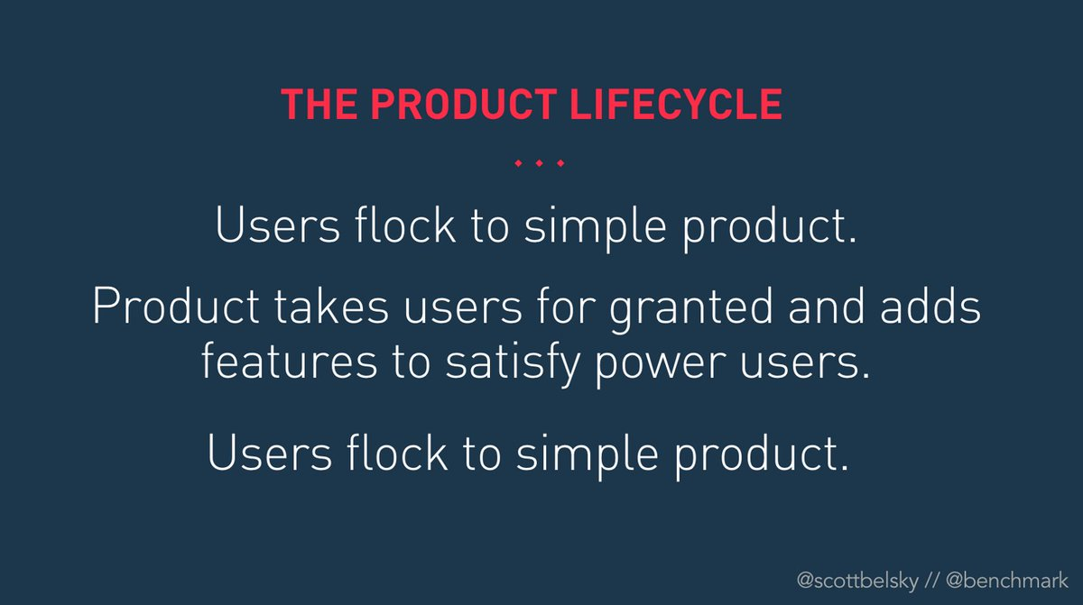 Thoughts on accommodating new types of new users, and defying a sad product lifecycle... https://t.co/6HJfzgnVxu https://t.co/Vmu19q0ix3